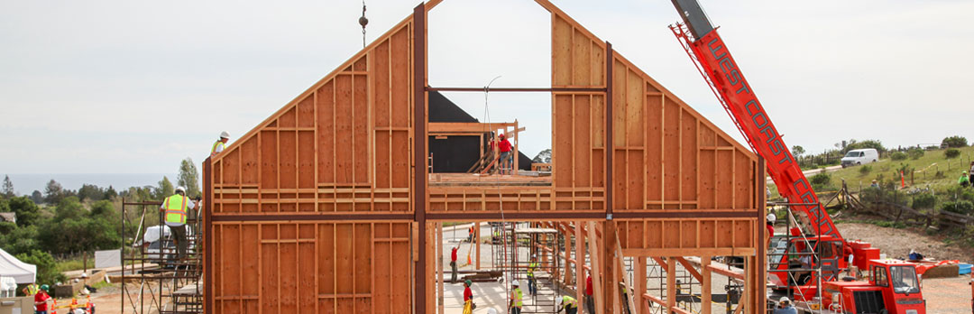 Barn again - Historic hay barn rises again to become a center for sustainability programs.