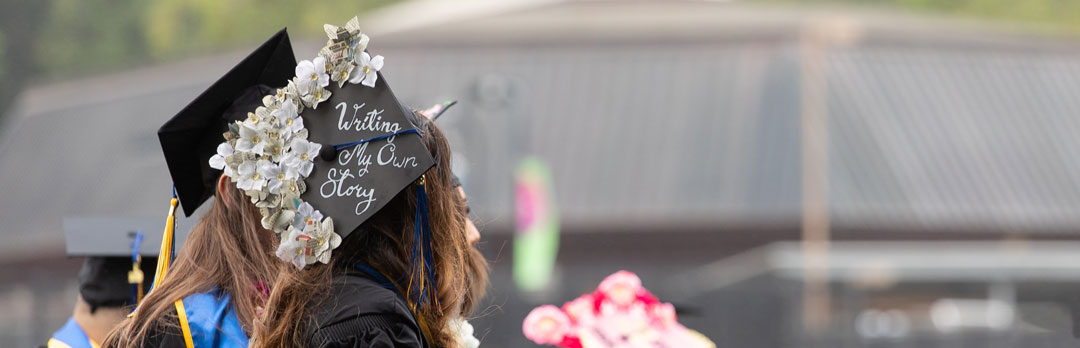 Graduation cap - Writing your own story