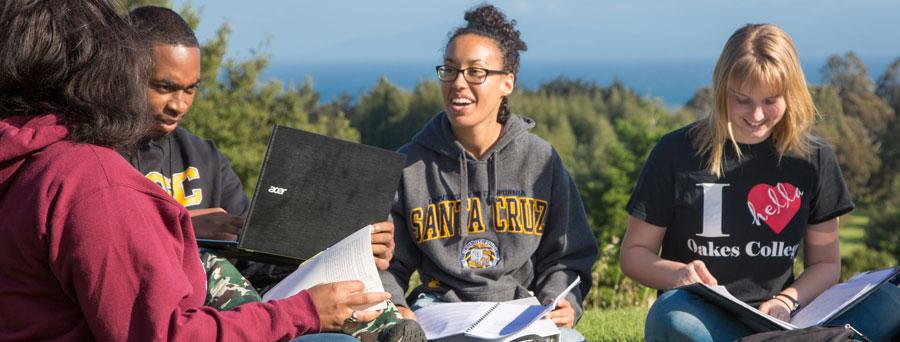 UC Santa Cruz students